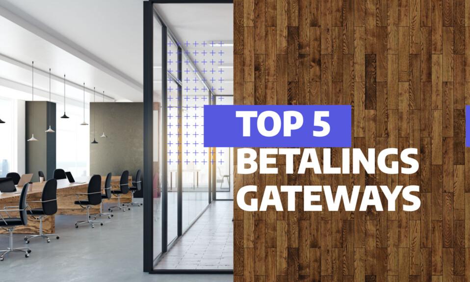 De 5 bedste betalingsgateways til din hjemmeside