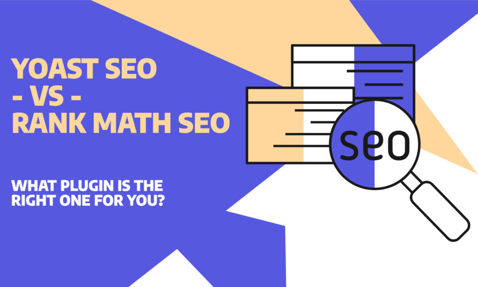 """Yoast vs Rank Math SEO€"""" - Find the right plugin for your needs"""