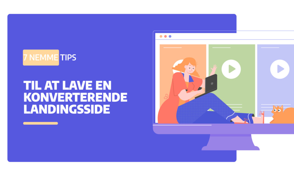 Landingsside i WordPress- 7 nemme tips til at en konverterende landingsside