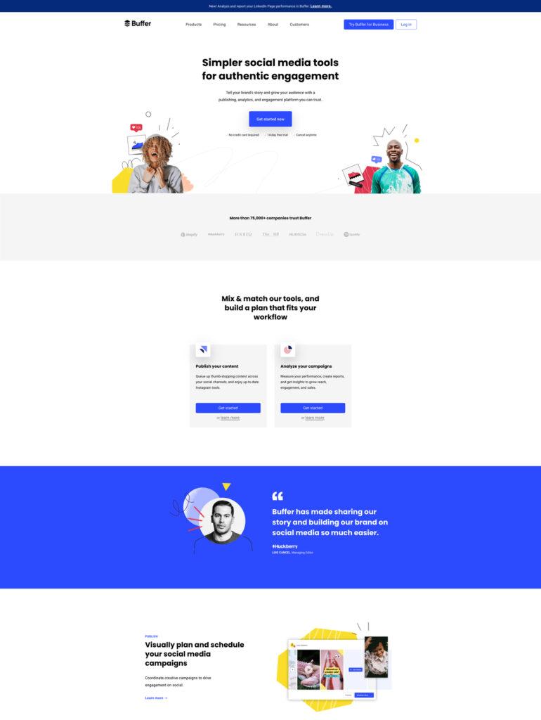 buffer website