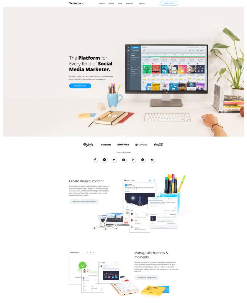 falcon website