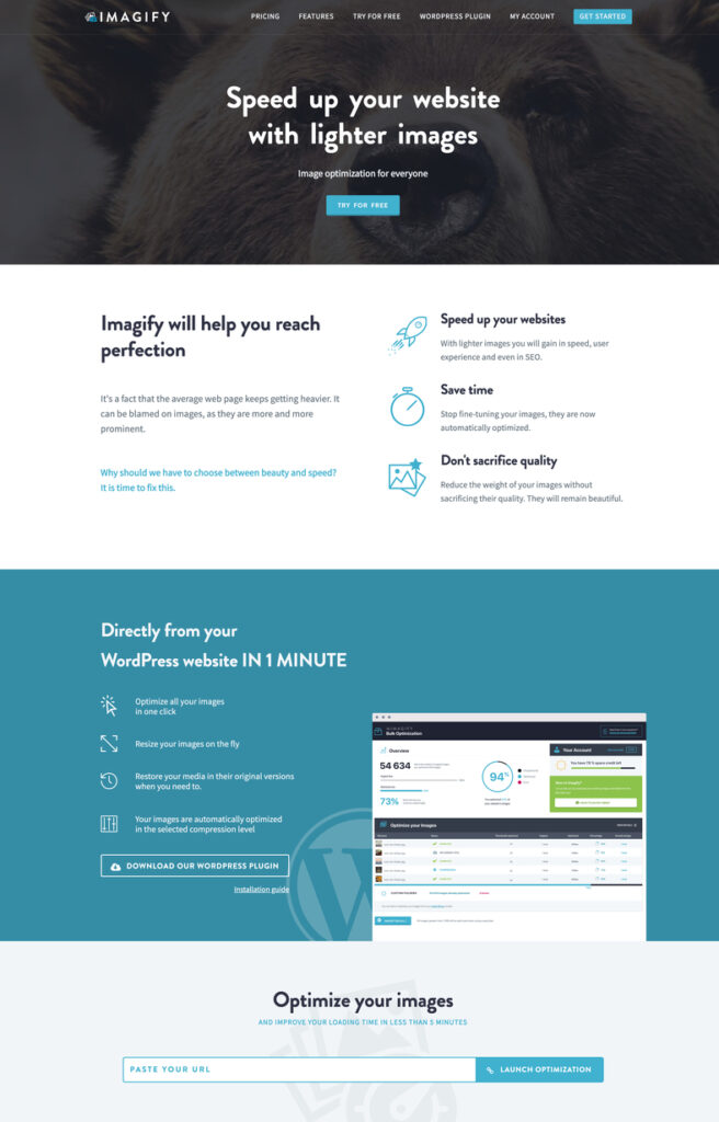 imagify website