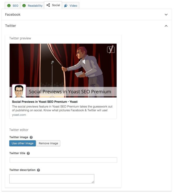 yoast preview for social media