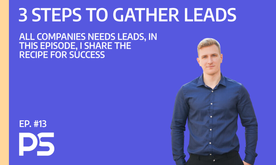 3 simple steps to gather leads - Ep. #13