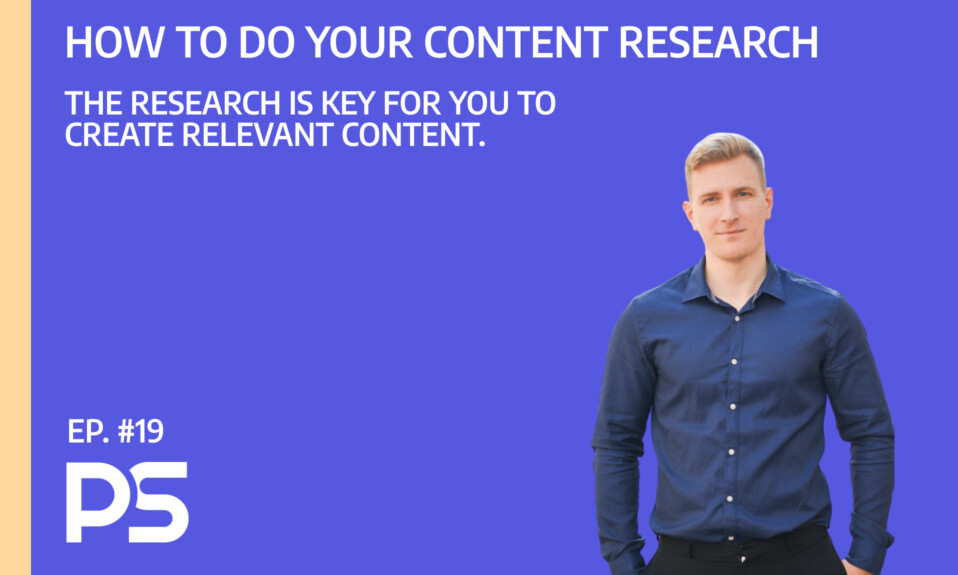 How to do your content research - Ep. #19