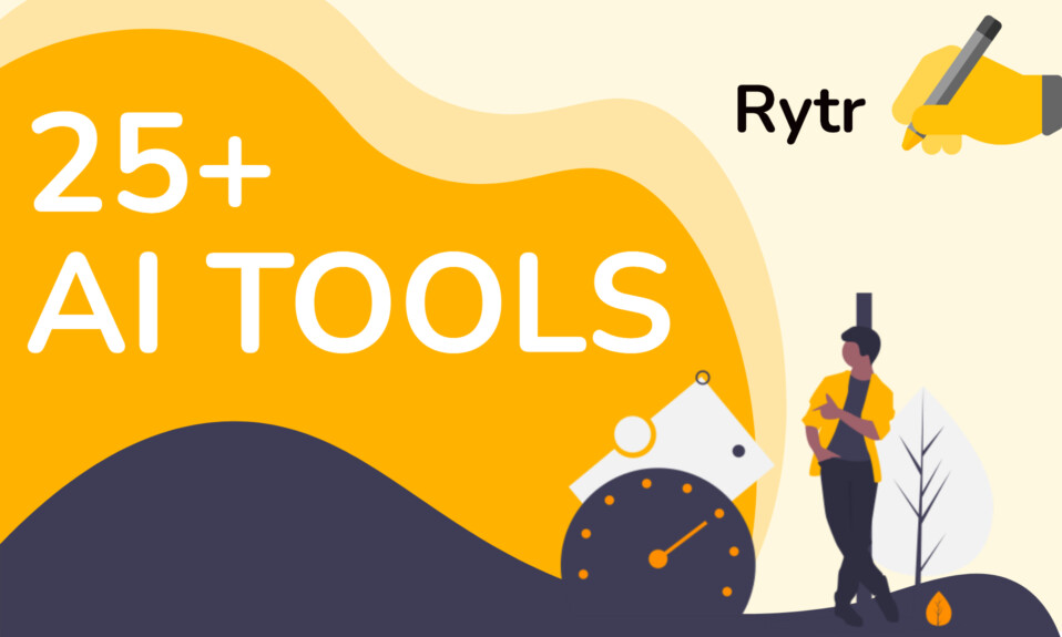 Rytr - An AI tool who proclaims to be the best with 25 tools