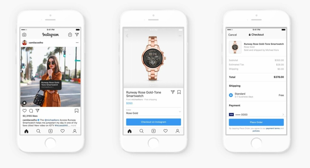 Instagram Shopping experience overview