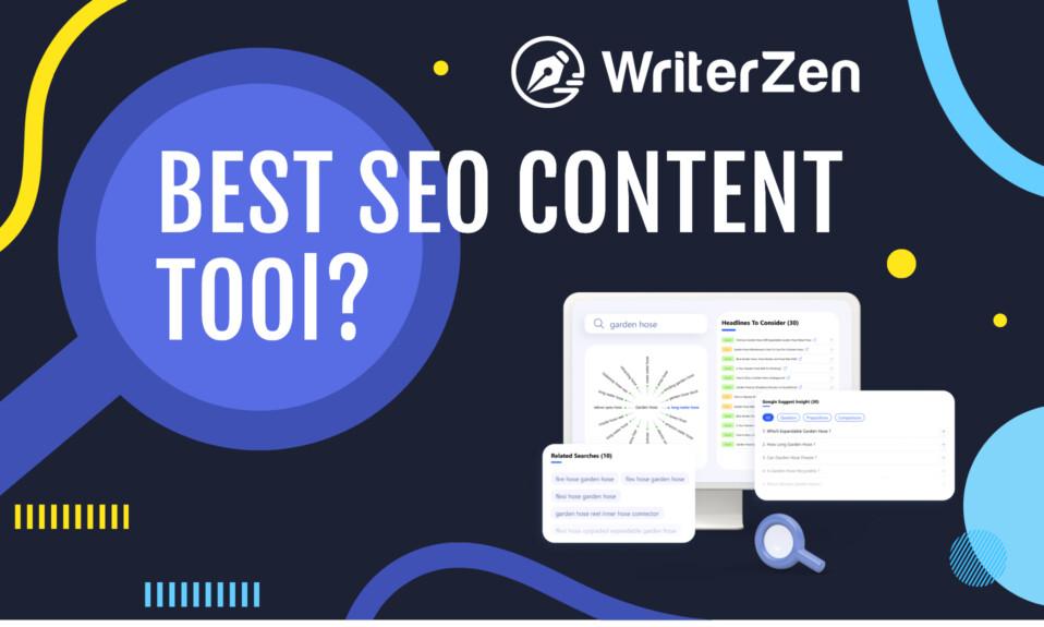 WriterZen - Create SEO Optimised Content In Minutes - 4 Powerful SEO Modules
