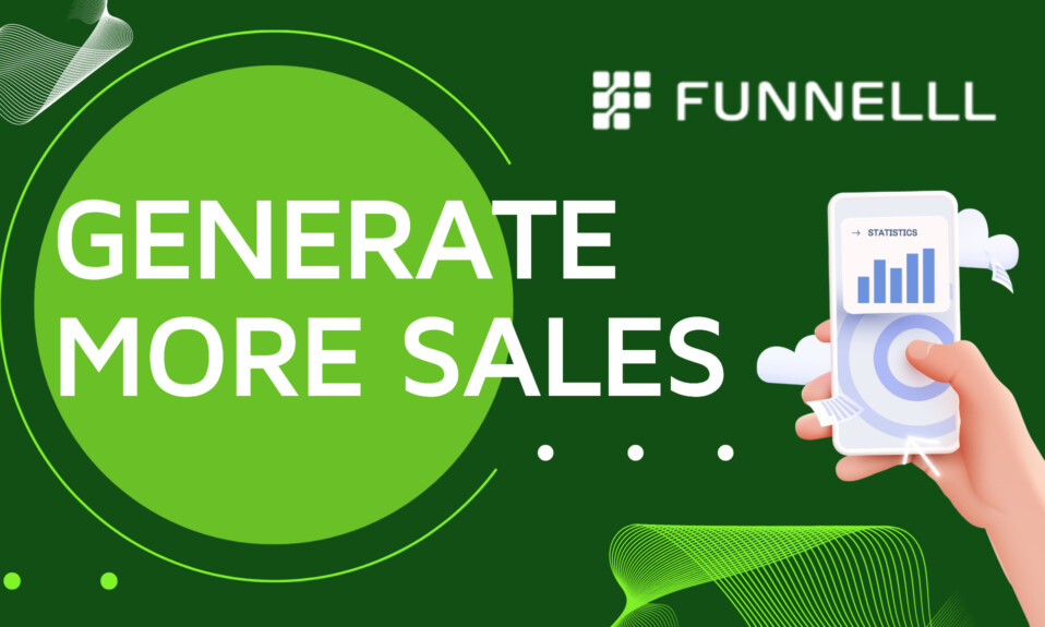 Funnelll - Generate more sales by leveraging you marketing data